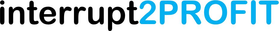 pattern interrupt interrupt2PROFIT logo
